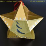 Emballage de luxe Golden Foil Emboss Chocolate Box for Christmas