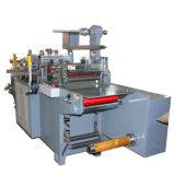 Máquina que corta con tintas impresa velocidad automática de la escritura de la etiqueta