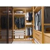 Cabinet multifonctionnel en bois de mélamine linéaire sans porte pour l'appartement