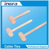 Contrassegni del cavo dell'acciaio inossidabile usati con le fascette ferma-cavo degli ss