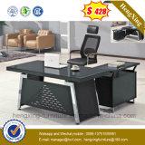 Métal neuf avec le bureau en bois de Tableau de bureau de tiroirs (NS-GD015)