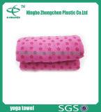 Il tovagliolo antiscorrimento di yoga di Microfiber mette in mostra il tovagliolo di ginnastica del tovagliolo