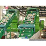 Flasche-zu-Flasche Haustier-Abfallverwertungsanlage/die Plastikaufbereitenzeile