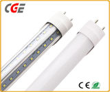 T8 de doble hilera de tubo de luz LED de calidad confiable, Sustitución de las lámparas de ahorro de energía
