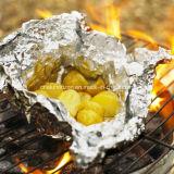 Tipo folha de alumínio do rolo do agregado familiar para o acondicionamento de alimentos