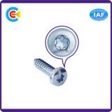 Acero inoxidable/4.8/8.9.8/10/zinc galvanizado Flor Cabeza troncocónica tornillo autorroscante de mobiliario/cocina/armario
