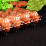 Bandeja descartável de embalagens blister para uso doméstico para ovos