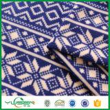 Panno morbido polare stampato blu Ristringere-Resistente personalizzato per la coperta