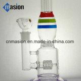 Pipe de fumage en verre de cuvette en verre de cire (BY006)