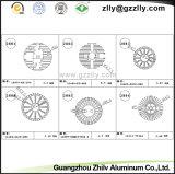 Disipadores de calor de aluminio/radiador/refrigerador/disipador de calor de la protuberancia del perfil de Guangzhou Zhilv