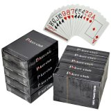 Poker Club 100% New PVC Playing Cards / Plastic Poker