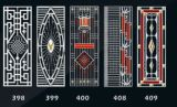 Neue Entwurfs-Edelstahl-Eintrag-Tür