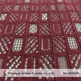 Venda por grosso de tecido de renda de algodão pelo estaleiro (M3438)