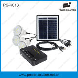 3 Lampen Solar Lighting Kits mit Mobile Charger