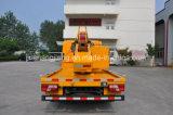 Pilote de poste de rambarde chariot avec pieu d'un marteau hydraulique pour Barrier post installation