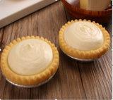 パン屋のニュージーランドのチーズが付いている半仕上げのフリーズされたこね粉のチーズタルト