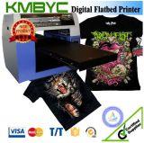 A3 velocidad plana de la impresora de la camiseta del color de la talla 6