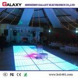500*1000m m de aluminio a presión la visualización interactiva de alquiler de la cabina P6.25/P8.928 LED Dance Floor de la fundición con el sensor de movimiento para la boda, acontecimientos
