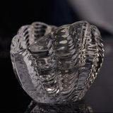 Suportes de vidro em forma de leque de Tealight para velas