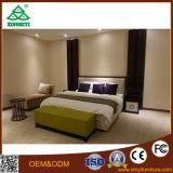 호텔 방 미국식 Balck 나무로 되는 침대 디자인