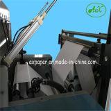 Papel automático de alta velocidad que raja la máquina el rebobinar