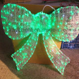 Décoration à LED Butterfly Bowknot Christmas Motif Outdoor Light