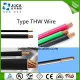 O UL aprovou o fio de construção isolado PVC Thw