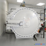 autoclave de borracha aprovada de Vulcanizating do aquecimento de vapor do Ce de 1000X1500mm