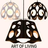 Nordisches Art-modernes einfaches Eisen-hängende Lampe für Gaststätte