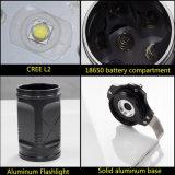 Caza de gran alcance de la linterna del CREE Xm-L2 LED