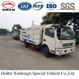 5cbm Dongfeng Compact Road Sweeper Truck Euro 5