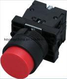 Dia22mm-La118kecの押しボタンスイッチ、黒、赤、緑、黄色、青、白いカラー、6V-380V電圧