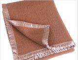 軍隊の低価格の最上質の熱くする柔らかい軍のウールの救助毛布
