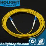 Соединительный кабель LC волокна к желтому цвету LC Sx Sm 2.0mm