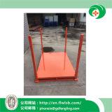 Cremalheira de empilhamento de aço dobrável para bens do armazenamento por Forkfit