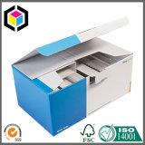 Caixa de envio pelo correio relativa à promoção Matte do pacote do papel ondulado de bloco liso