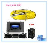 """система контроля 7 """" LCD DVR стока трубопровода трубы камеры сточной трубы 50m водоустойчивая"""