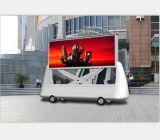 Impermeable al aire libre Mobile moviendo la pantalla LED