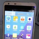 Téléphone de clone de téléphone cellulaire de l'exposition 32GB de ROM 4GB du RAM 1GB de Smartphone de faisceau de pouce Mtk6580 Octa du téléphone 5.7 de Goophone G6 de transport gratuit