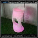 Iluminado de plástico de control remoto RGB LED silla con BV