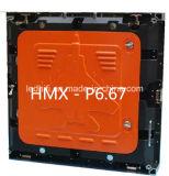 Tela de indicador ao ar livre elevada do diodo emissor de luz do brilho P6.67 SMD