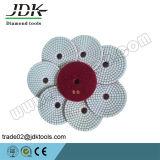 Jdk Hot Sale Diamond Гибкие сухие / влажные полировальные подушки для мрамора / гранита