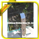a segurança de 3-19mm lisa/dobrou-se/o fabricante vidro Tempered da curva