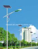 8m 45W LED Solarstraßenlaternebeleuchtend