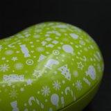 Олово металла конфеты поставщиков любимейшее: Фасол-Форменный сладостная коробка (B001-V16)