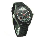 HD H. 264 IR夜Vison防水無線身につけられるデジタルの腕時計のカメラDVR