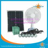 Солнечный вентилятор с портативным солнечным набором освещения