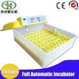 Machine approuvée d'incubateur d'oeufs de poulet de 56 oeufs de Digitals de la CE petite