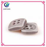 Кнопка кнопки пальто ребенка кнопки смолаы квадратная цветастая