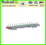 Alta capacidad de carga de vagón plano